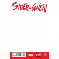 SPIDER-GWEN -1 BLANK VAR (RED)