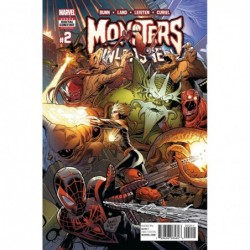 MONSTERS UNLEASHED -2 (OF 5)