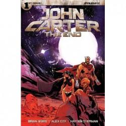 JOHN CARTER THE END -1 CVR...