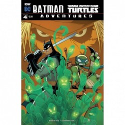 BATMAN TMNT ADVENTURES -4...