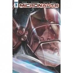 MICRONAUTS -3 10 COPY INCV