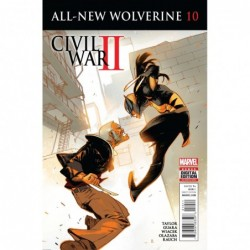ALL NEW WOLVERINE -10 CW2