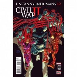 UNCANNY INHUMANS -12 CW2