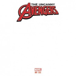 UNCANNY AVENGERS -1 BLANK VAR