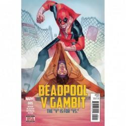 DEADPOOL VS GAMBIT -5 (OF 5)