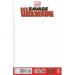 SAVAGE WOLVERINE -1 BLANK...