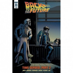 BACK TO THE FUTURE -23 CVR...