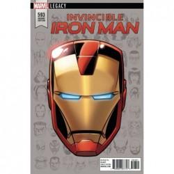 INVINCIBLE IRON MAN - 593...