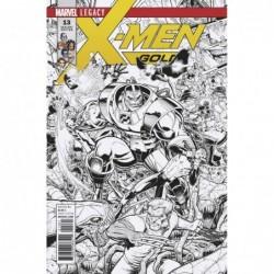 X-MEN GOLD - 13 A ADAMS B&W...