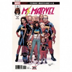 MS MARVEL -25 LEG