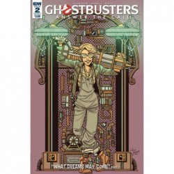 GHOSTBUSTERS ANSWER THE...