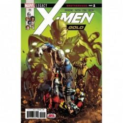 X-MEN GOLD - 21 LEG