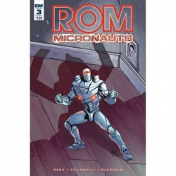 ROM & THE MICRONAUTS -3 (OF...