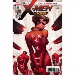 X-MEN GOLD 23 LEG