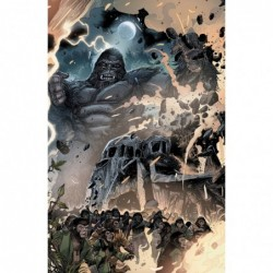 KONG ON PLANET OF APES -5...