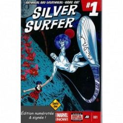 DF SILVER SURFER -1 SIGNED...
