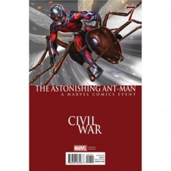 ASTONISHING ANT-MAN -7 HORN...