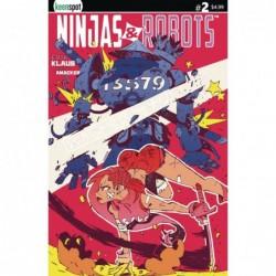 NINJAS & ROBOTS -2 CVR D...