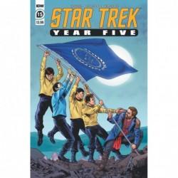 STAR TREK YEAR FIVE -15 CVR...