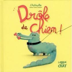 DROLE DE CHIEN CHATOUILLE