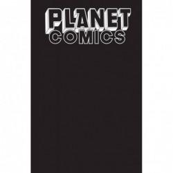 PLANET COMICS SKETCHBOOK...