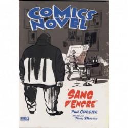 COMICS NOVEL - SANG D'ENCRE