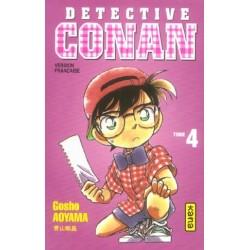 DETECTIVE CONAN - TOME 4