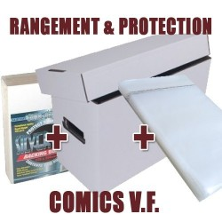 Pack Rangement & Protection comics V.F.