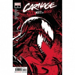 CARNAGE BLACK WHITE AND...