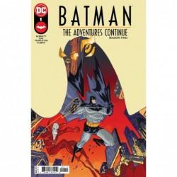 BATMAN ADVENTURES CONTINUE...