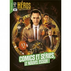 HEROS 8 COMICS ET SERIES,...