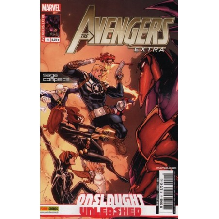 AVENGERS EXTRA 11 ONSLAUGHT UNLEASHED