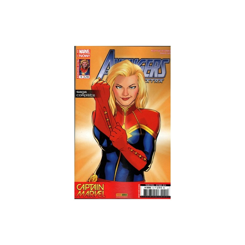 AVENGERS EXTRA 12 : CAPTAIN MARVEL 1