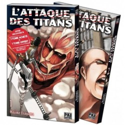 L'ATTAQUE DES TITANS - PACK...