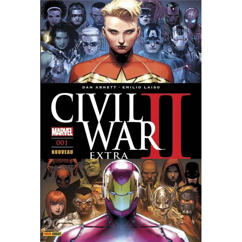 CIVIL WAR II EXTRA N 1