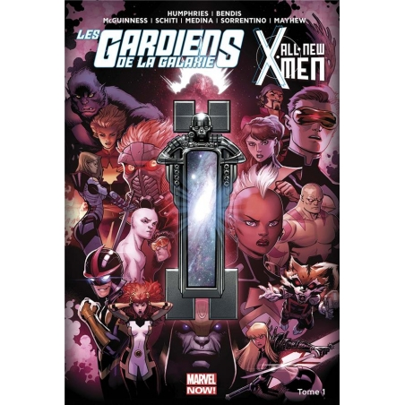 ALL NEW X-MEN/LES GARDIENS DE LA GALAXIE T01
