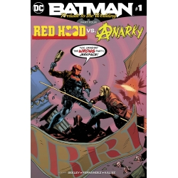 BATMAN PRELUDE TO THE WEDDING - SIGNÉ -  RED HOOD VS ANARKY -1