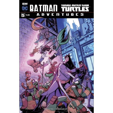 BATMAN TMNT ADVENTURES -5 (OF 6)