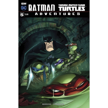 BATMAN TMNT ADVENTURES -5 (OF 6) 10 COPY INCV
