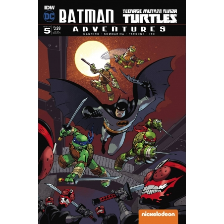 BATMAN TMNT ADVENTURES -5 (OF 6) SUBSCRIPTION VAR