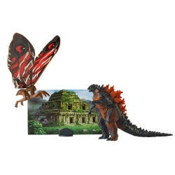 GODZILLA KING OF THE MONSTERS ASSORTIMENT PACKS 2 FIGURINES MONSTER MATCHUPS 9 CM GODZILLA&MOTHRA