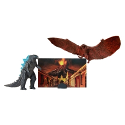 GODZILLA KING OF THE MONSTERS PACKS 2 FIGURINES MONSTER MATCHUPS 9 CM GODZILLA & RODAN