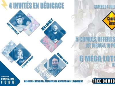 Free Comic Book Day France 2020 - Comics Zone
